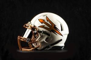 Arizona State Copper Helmet