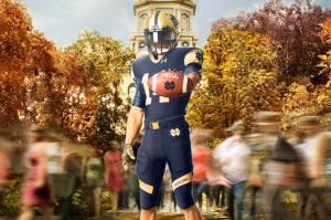 Notre Dame Shamrock Series Uni