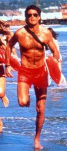 TELEVISION PROGRAMME : BaywatchStarring David Hasselhoff as Mit