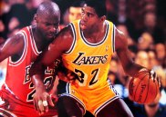Michael-Jordan vs. Magic-Johson big