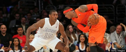 New York Knicks v Los Angeles Lakers
