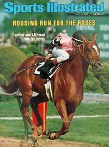 Yes, they put a horse on the cover of SI in 1978