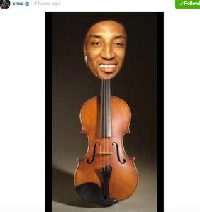 @scottiepippen yes THE GREAT MICHAEL JORDAN GOT YOU SIX RINGS , but you will always be remembered as MR 2nd FIDDLE. SECOND BEHIND HIM AND SECOND BEHIND ME. GAME AINT OVER TIL I SAY SO. stay in yo place. 6 time nba CHUMPION