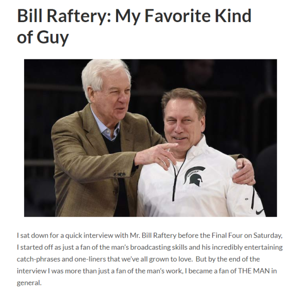 article link: https://thecola.net/2015/04/06/bill-raftery-my-favorite-kind-of-guy/