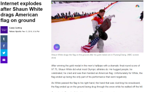 article link: https://sports.yahoo.com/internet-explodes-shaun-white-drags-flag-043438261.html
