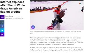 article link: https://sports.yahoo.com/internet-explodes-shaun-white-drags-flag-043438261.html